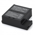 Replacement 3.7V Li-ion Battery for AEE DS-S50 - Black (1500mAh)