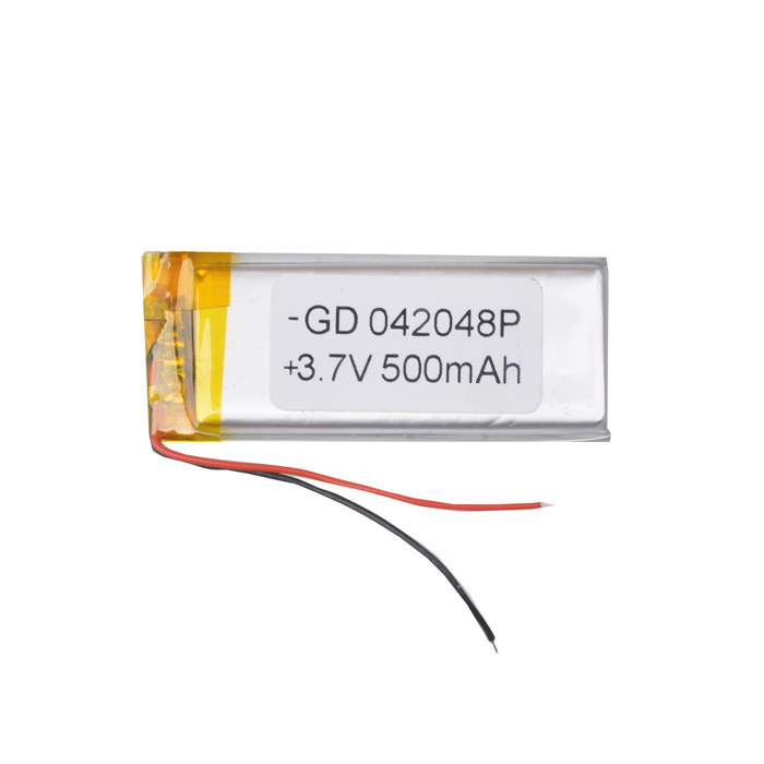 042048P Replacement 3.7V 500mAh Battery for Cellphone - Silver