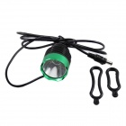 KINFIRE U2 7.2 ~ 8.4V 600lm 3-Mode legal LED Branco Bicicleta Luz