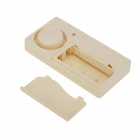 Forecum Intelligent Household Door Magnetic Alarm - Beige (2 * AAA)