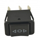 CARKING AC 250V/10A 125V/15A Rocker Switch for Car - Black (2PCS)