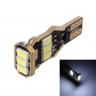 T10 2W 216LM 6000K White Light 5730 SMD LED Error-Free Canbus Car Clearance Lamp (9~18V)