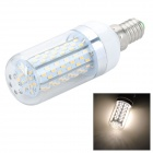E14 6W LED-Mais-Glühlampe Warm White 3000K 500LM 3014 SMD (AC 85 ~ 265V)