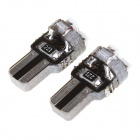 T5 1W 18lm 635~700nm 3*1206 SMD Red Light Car Instrument Lamp(2PCS)