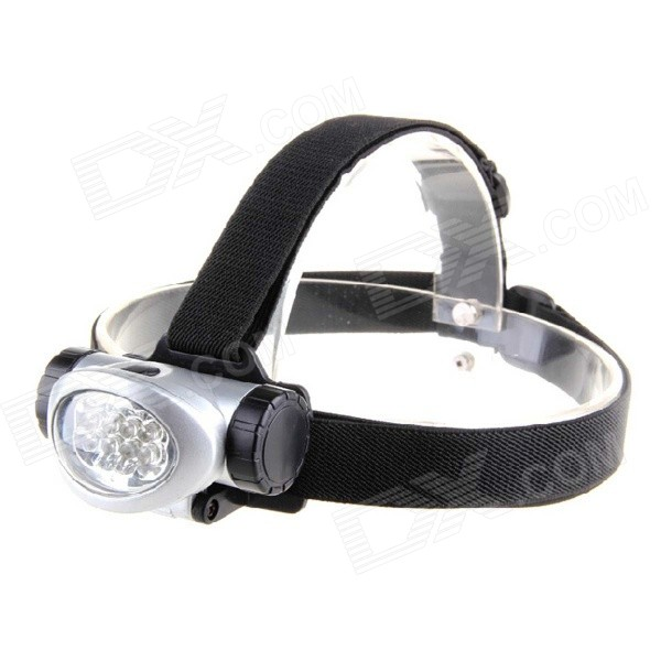 KOMAES PL635 8-LED 20lm 3-Mode Cool White Light Headlamp