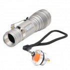 Warsun 500lm 3-Mode LED White Light Telescopic Zooming Flashlight