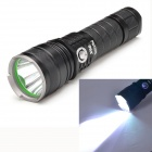 Warsun X60 1198lm 5-Mode White Light Long Shot LED Flashlight - Black (1 x 26650)