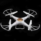 FY328 4-CH 2.4GHz R/C Quadcopter w/ 6-Axis Gyro, 3D Tumble, LED, 2.0MP Camera / TF - White