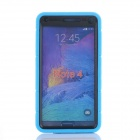 TPU Back Case Cover Armor for Samsung Note 4 N910 - Sky Blue