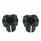CARKING Car HID Xenon Bulb Holder Socket for New Mazda 6 / Mazda 3 / Opel - Black (2PCS)