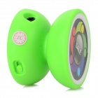 LLQ-3 Portable Mini Yo-Yo Style MP3 Player w/ TF - Green