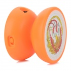 Portable Mini Yo-Yo Style MP3 Player w/ TF - Orange