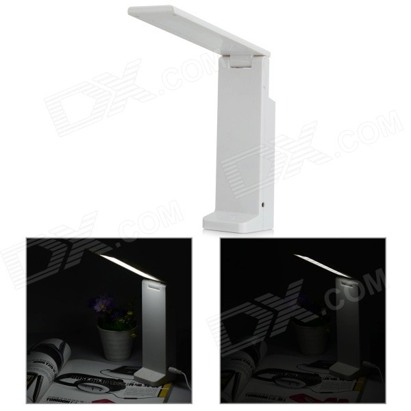 YHX-189 1W 45lm 6500K 18-LED White Light Eye Protection USB Table Lamp