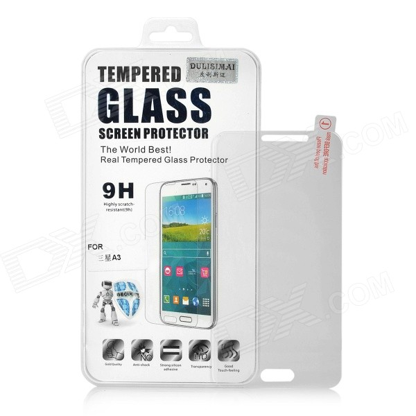 2.5D 9H Curved Clear Tempered Glass Screen Guard for Samsung Galaxy A3