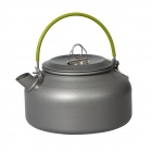 DS-08 0.8L Portable Outdoor Camping Coffeepot - Blackish Grey