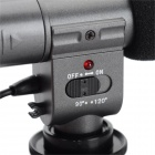 Universal Microphone for Video Camera - Black (1 * CR2)