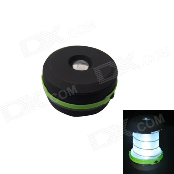 115lm 3-mode Cool White LED Camping Folding Mini Emergency Lamp