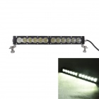 "MZ 13"" 60W 5100lm 6000K 60' White Flood Beam LED Worklight Bar 4WD Off-road ATV Driving Lamp"