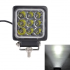 MZ 27W 2295LM 6000K White LED 30° Spot Beam SUV ATV Boat Truck Headlight / Driving Lamp / Worklight