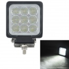 MZ 27W 2295LM 6000K White LED 60° Flood Beam SUV ATV Boat Truck Headlight Worklight Driving Lamp