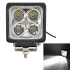 MZ 40W 3400LM 6000K White LED 30° Spot Beam SUV ATV Boat Truck Headlight / Driving Lamp / Work Light