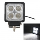 MZ 40W 3400LM 6000K White LED 60° Flood Beam SUV ATV Boat Truck Headlight Driving Lamp Work Light