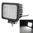 MZ 48W 4080LM 6000K White LED 60° Flood Beam SUV ATV Boat Truck Headlight Worklight Driving Lamp
