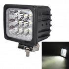 MZ 60W 5100LM 6000K White LED 30° Spot Beam SUV ATV Boat Truck Headlight / Work Light / Driving Lamp