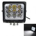 MZ 90W 7650LM 6000K White LED 30° Spot Beam SUV ATV Boat Truck Headlight / Work Light / Driving Lamp