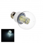 F36 E27 6W 366lm 6500K 118-SMD 3528 LED White Light Lamp Bulb - White (AC 220V)