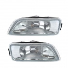 Sedan Clear Bumper Fog Light Covers for 03-07 HONDA ACCORD 4DR