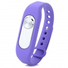 Sports Wrist Band Digital Voice Recorder w/ 8GB RAM - Purple + Silver