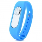 Sports Wrist Band Digital Voice Recorder w/ 8GB RAM - Blue + Silver