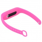 Sports Wrist Band Digital Voice Recorder w/ 8GB RAM - Deep Pink