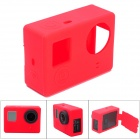 CS-4 Protective Silicone Case for GoPro Hero 4 - Red