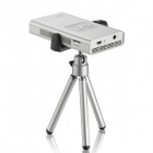 OURSPOP OP-82 Mini Wi-Fi DLP 1080P HD Video Projector ж / TF / AV In / Mini HDMI - Silver