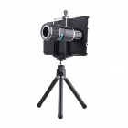 12X Zoom 90° Camera Lens Telescope Set for Samsung Galaxy Note 4 - Black