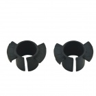 CARKING Car HID Xenon Bulb Holder Socket for Old Honda Odyssey - Black (2PCS)