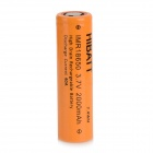 Rechargeable 3.7V 2000mAh 18650 Li-ion Battery - Orange