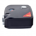 PH5 2500lm 1080P Full HD Home Theater LED Projector - Black (US Plugs)