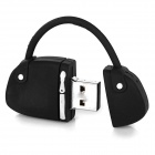 Mini Handbag Style USB 2.0 Flash Drive - Black + White (16GB)