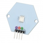 RGB LED Module for Arduino - White + Black (Works with Official Arduino Boards)