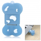 Cartoon Dog Bone Style Silicone USB 2.0 Flash Drive Disk - Blue + White (8GB)