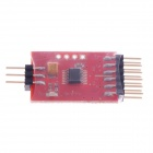 3 Channel Video Switcher Module for FPV Camera - Red