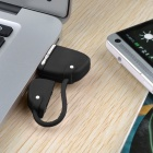 Mini Handbag Style PVC USB 2.0 Flash Drive Disk - Black + White (64GB)