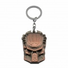 Creative Monster Mask Style Zinc Alloy Keychain - Bronze + Silver
