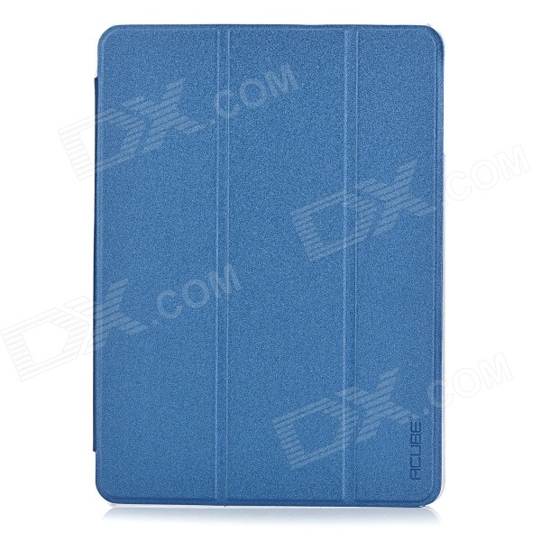 "PU Flip Open Case w/ Stand for 9.7"" CUBE I6 - Blue"
