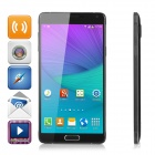 "NO.1 NOTE4 5.7"" IPS Quad-Core Android 4.4 WCDMA 3G Phone w/ 1GB RAM, 8GB ROM - Black"
