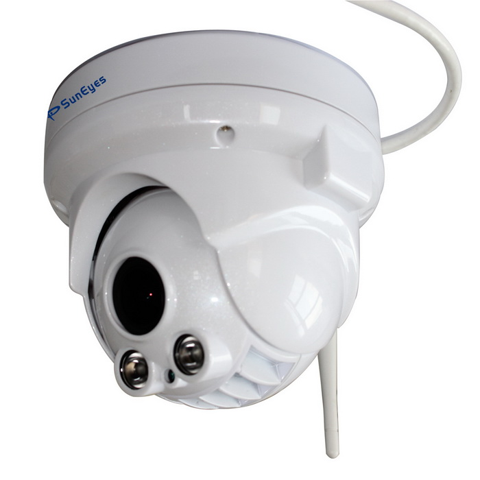 Suneyes SP-P1802SWPTZ 1080P wifi Cámara PTZ dome IP - blanco UE enchufe