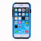 Protective Silicone Back Case Cover w/ Card Slot for IPHONE 6 - Sky Blue